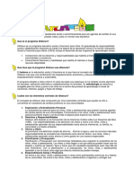 Aflatoun Programme Note Spanish