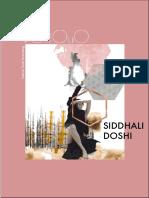 Portfolio Siddhali Doshi