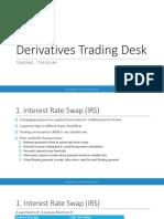 derivatives trading desk