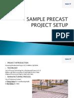 Sample Precast Project Setup