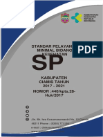 Spm 2017 2021 Dinas Kesehatan Kabupaten Ciamis