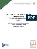 Desarrollo de Habilidades Gerenciales (Unidad 4)