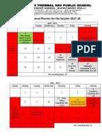 School Calendar 2017 18