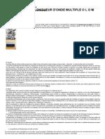 L'Oscillateur à Longueur d'Onde Multiple O L O M Page 2 - Fabricant Français de Collier Bracelet Ceinture Énergétique Selon Les Théories de G Lakhovsky