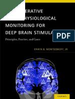 Intraoperative Neurophysiological Monitoring for Deep Brain Stim