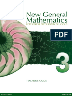 New General Mathematics for Secondary Schools 3 TG Full PDF