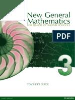 New General Mathematics for Secondary Schools 3 TG Full PDF
