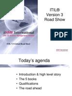 ITIL V3 Roadshow