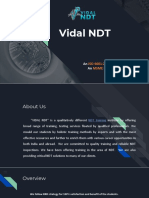 Vidalndt - ndt training institute in Hyderabad and Vijayawada