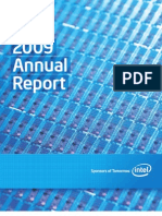Intel 2009 Annual Report and Form 10-K