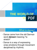 3rd Dance Topic