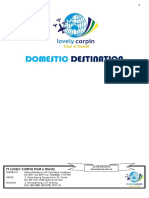 Domestic & Inter Pacakges Revisi