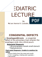 Pediatric Lecture