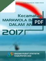 Kecamatan Marawola Barat Dalam Angka 2017