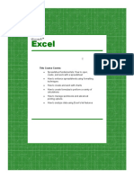 Advanced Microsoft - Excel 2002