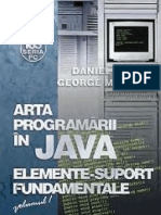 Arta Programarii in Java Elemente Suport