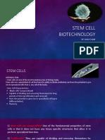Stem Cell Biotechnology