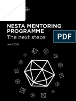 NESTA Mentoring Programme