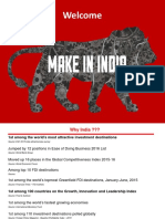 Make in India Presentation