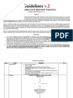 Guidelines for Narrative Report V2