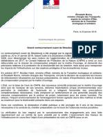 369784535 GCO Le Communique Du Gouvernement Du 23 Janvier
