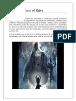 The Symbolism of Shiva