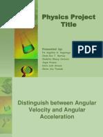 Angular Velocity