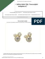 Catalog Aur Turcia Cercei Din Argin Preturi Cercei Aur 2018