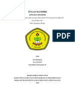 Contoh LPM Dan Sinopsis