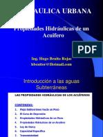 Clase II Hidraulica Urbana Acuiferos