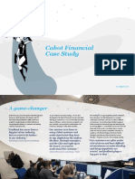 Cabot Financial Case Study