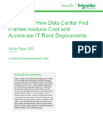 Wp 263 Analysis of of How Data Center Pod Frames Reduce Cost and Accelerate It Rack Deployments