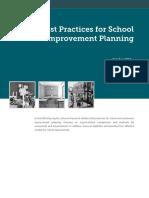 Best Practices for School Improvement Planning