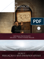 Slides - Revista 500 Anos de Reforma Protestante - Lição 9