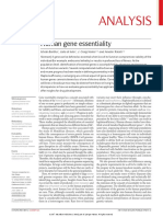 Human Gene Essentiality