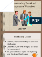 Understanding Emotional Competence Workshop
