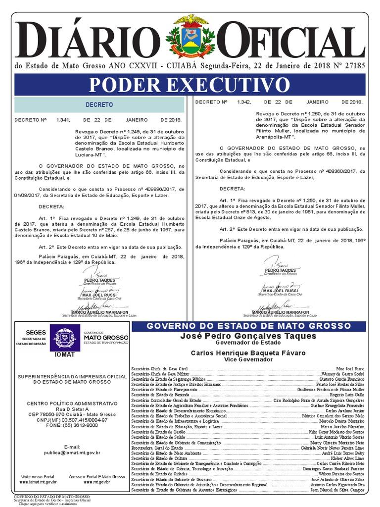 536efbdadea98 Diario Oficial 2018-01-22 Completo