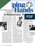 Summer 2004 Helping Hands Newsletter, Visalia Rescue Mission