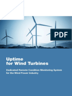 Uptime for Wind Turbines