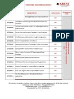 Embedded Major IEEE 2017 Project List