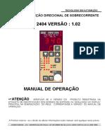 Rele de Proteção Urpd2404V102R01