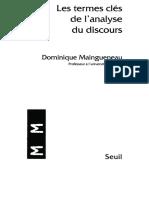 [Dominique Maingueneau] Les Termes Clés de l'an(B-ok.org)