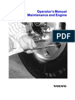 VNL VOLVO Operators Manual Maintenance and Engine