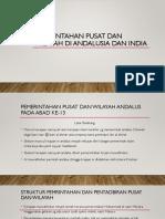 Pemerintahan Pusat Dan Wilayah Di Andalusia Dan India