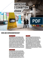 HemingwayDesign Approach to Exhibition and Event Design