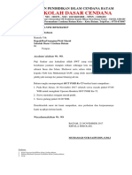 103 Surat Pemberitahuan Hari Guru (PGRI)