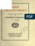 Werner Sombart, Das Proletariat