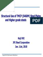 4.Jan9 (Corrected Handout) Higher Grade Steels JFES OKI-1