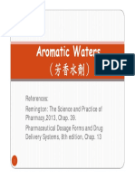 5 Aromatic Water