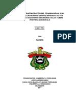 pemetaan daerah potensial penangkapan ikan cakaang berbasisi SIG di perairan Teluk tominil.pdf
